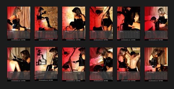 Calendario 2013 Domina Ishtar